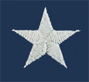 Embroidered Stars and Brass Grouments on Flags 2 X 3 thru 6 X 10