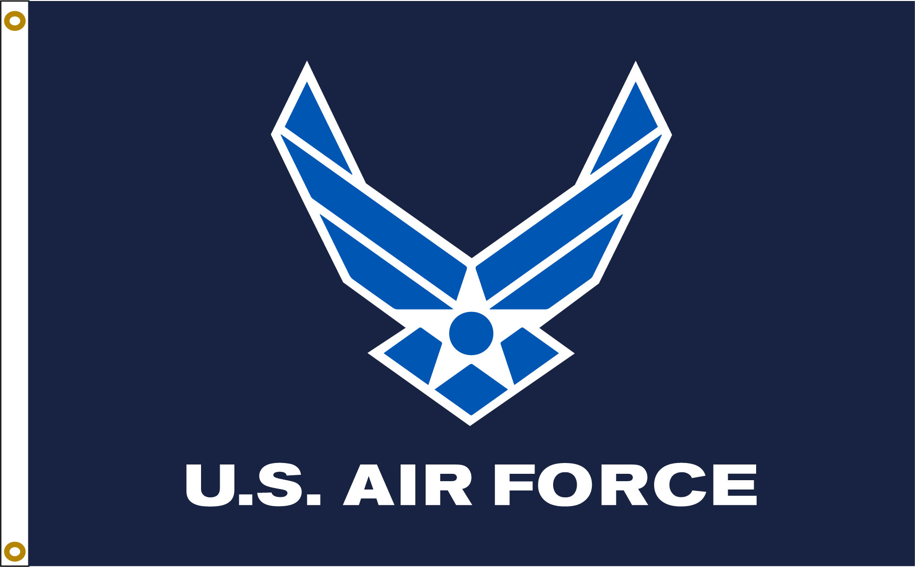 US Air Force Wings 3_5 flag