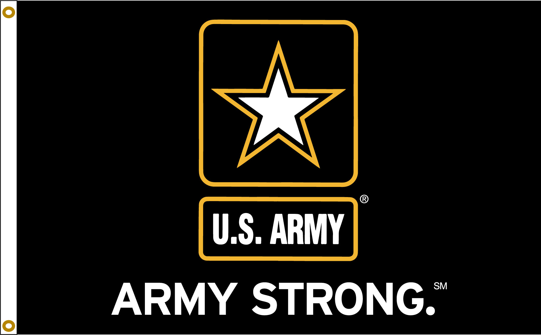 Army Strong 3_5 flag
