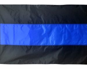 Thin Blue Line 3_5 flag