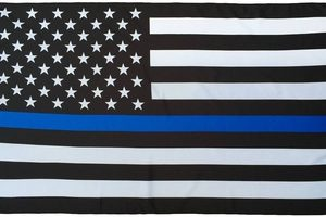Thin Blue Line US 3_5 flag