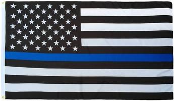 Thin Blue Line US 3_5 flag